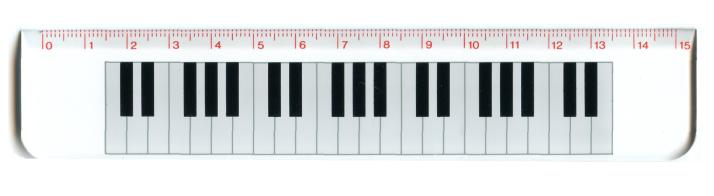 règle piano intervalles
