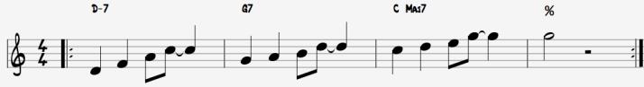 seq bonnes notes - ii V I en C