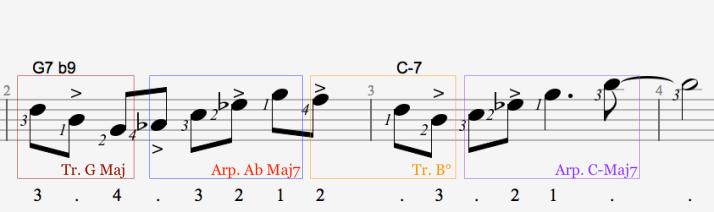 Partition phrase 13 - mes 2 et 3 et 4