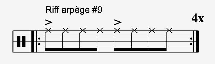 riff arpège #9